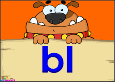 bl consonant blend l blends video kizphonics phonics clips
