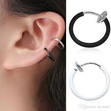 earrings for pierced ears 2018 by dhl korean invisible ear clip without pierced ears clip on