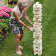garden tumble tower by uber games notonthehighstreet com