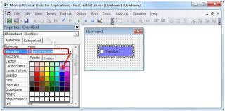 vba backcolor property of checkbox explained with examples