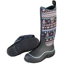 womens winter rubber boots canada s muck hale waterproof rubber boots 658168 rubber