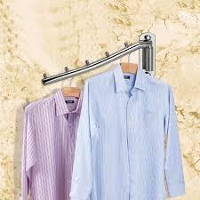 clothes hangers rack holderulifestar standard wall mount hangers