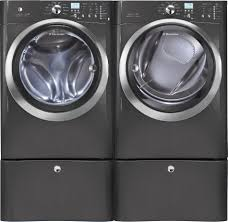 home depot washer dryer black friday electrolux eifls60lt washer u0026 eimed60lt electric dryer set w pedestals