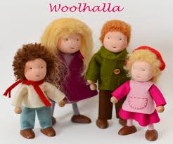 dollhouse family of 4 woolhalla