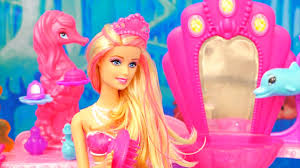 barbie toys mermaid doll hair salon barbie movie