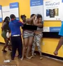 black friday fights in walmart group of women slap each other up inside a walmart daily mail online