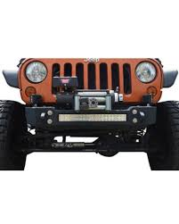 20 single row led light bar ace engineering pro series front bumper with provision for 20