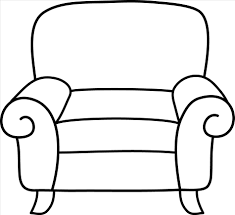 couch couch clipart black and white clipart black and white panda