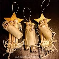 easy clothespin nativity tree ornament sweeties kidz