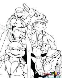 ninja turtle color pages u2013 corresponsables