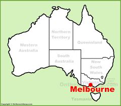 Australia Population Map Melbourne Maps Australia Maps Of Melbourne