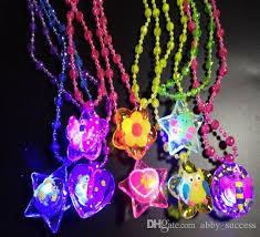 acrylic led necklace light up necklace toys children novelty