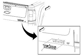 repair instructions endgate emblem nameplate replacement tuf