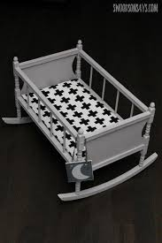 Free Wooden Baby Doll Cradle Plans by The 25 Best Baby Doll Crib Ideas On Pinterest Baby Doll Carrier