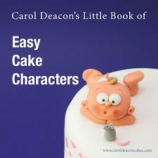 Cake Decorating And Sugarcraft Magazine Character Cover Low Res Jpg