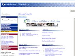 audit circulation bureau database of the month audit bureau of circulations estatements
