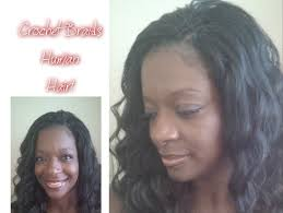 crochet braids with human hair crochet braids human hair a must see youtube