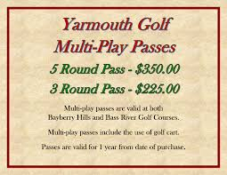 best places for black friday golf deals yarmouth golf bass river u0026 bayberry hills