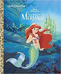 mermaid disney princess golden book michael