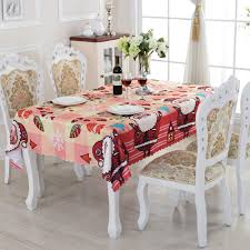 Christmas Table Cloths online buy wholesale christmas tablecloths from china christmas