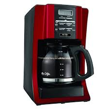 mr coffee under cabinet coffee maker mr coffee advanced brew 12 cup programmable coffee maker red bvmc