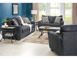 Slumberland Living Room Sets by Slumberland Flanders Collection Slate 3pc Room Package