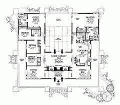 style home plans with courtyard brilliant u shaped home plans regarding courtyards house plans and