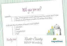 Wording For A Wedding Card Rsvp Wording For Wedding Invitations 1687