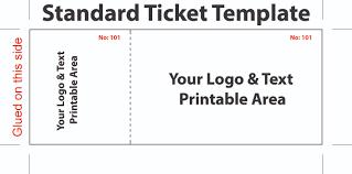stunning event ticket template