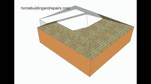 How To Frame A Hip Roof Addition Hip Roof Design For L Shaped Home Addition U2013 Architecture Youtube