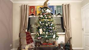 harry potter themed tree decorations today