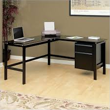 Black L Shaped Computer Desk Beautiful Modern Computer Desk Black Ideas Liltigertoo