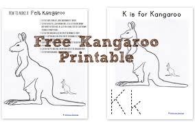 how to make a felt kangaroo wildflower ramblings
