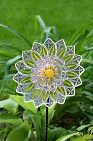 386 best glass yard art images on pinterest garden art garden