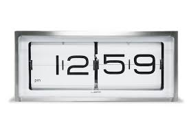 Unique Desk Clocks by Wall Desk Clock Stainless Steel White Face