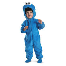 cute halloween costumes for little boys amazon com sesame street baby cookie monster plush costume clothing