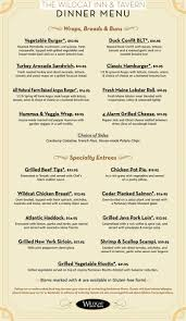 is in n out open on thanksgiving wildcat tavern dinner menu wildcat inn and tavern