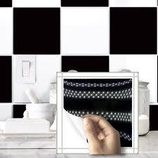Salle De Bain Noir Et Blanc Design by Achetez En Gros Noir Carreaux De Mosa U0026iuml Que En Ligne à Des