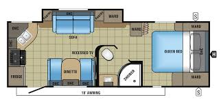 Surveyor Travel Trailer Floor Plans by Flagstaff Micro Lite Travel Trailers By Forest River Rv 25ks