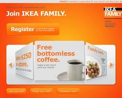 Ikea Register Ikea Family The Family With No Bad Bits Kiosk On Behance Ikea