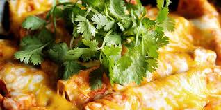cheesy chicken enchiladas verde campbell s kitchen pace cheesy chicken enchiladas