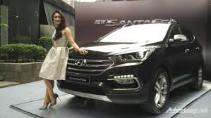 hyundai santa fe facelift 2016 hyundai santa fe facelift officially launched in indonesia
