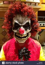 scary clown stock photo royalty free image 112432849 alamy