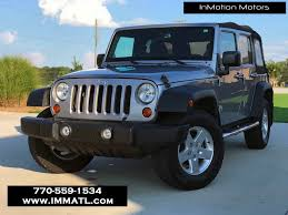 2013 used jeep wrangler unlimited sport at inmotion motors serving
