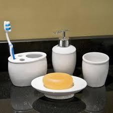 traditional porcelain bathroom accessories set 4 piece set