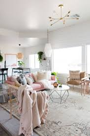 aspyn u0027s living room makeover reveal pink couch living rooms and