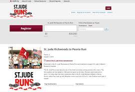 sample letter for charity event fundraising richwoods st jude run start fundraising now