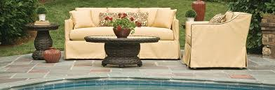 good looking outdoor furniture upholstery view at fireplace