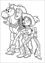 disney coloring pages jessie toy story woody and jessie the ultimate coloring book