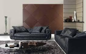 canapé cuir gris anthracite sols et tapis tapis gris salon foncé shaggy canapés cuir noir
